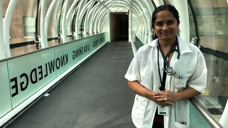 Flattening the GTA Curve: St. Michael's Dr. Sharmistha Mishra wins funding for COVID-19 project