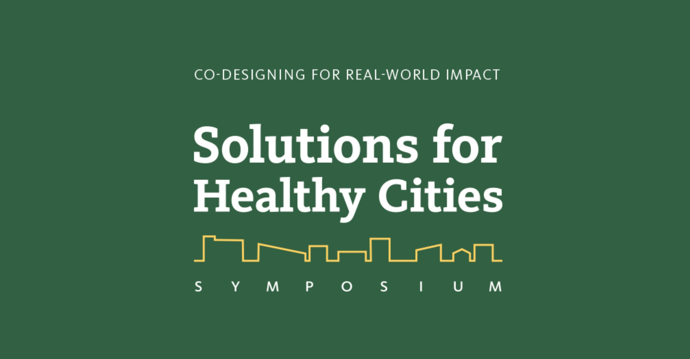 MAP hosts Solutions for Healthy Cities Symposium