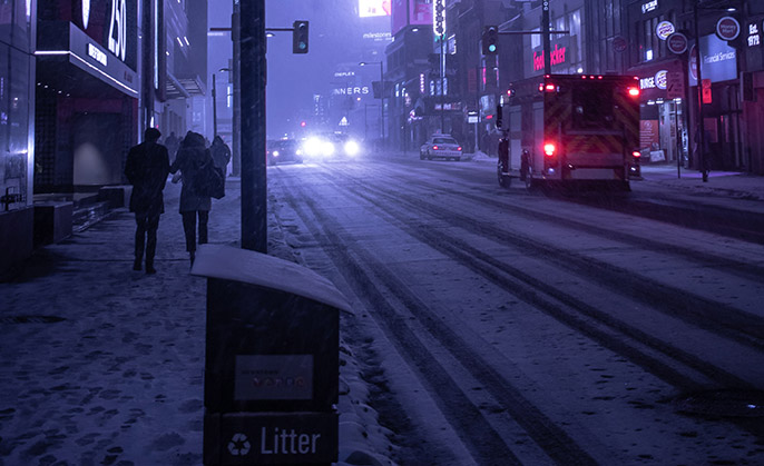 People who are homeless in Toronto experience injury and death from cold, even in moderate winter weather: An evidence-based brief