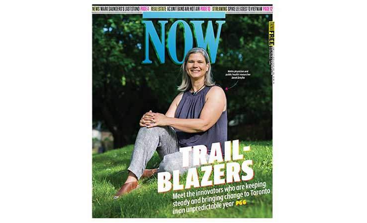 Toronto Trailblazers 2020: Janet Smylie is tracking COVID-19 in Indigenous communities